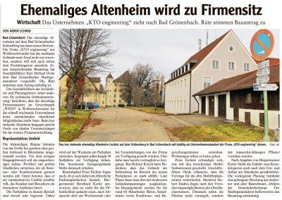 Mit freundlicher Genehmigung der Memminger Zeitung (30.11.2016)