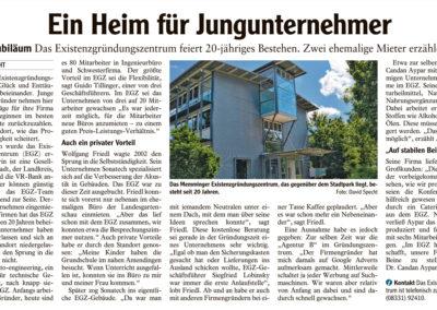 Mit freundlicher Genehmigung der Memminger Zeitung (01.06.2018)