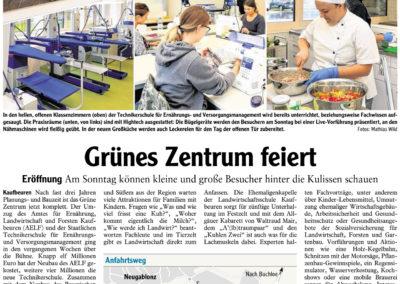 Mit freundlicher Genehmigung der Allgäuer Zeitung (02.10.2018)