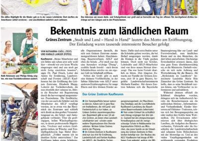 Mit freundlicher Genehmigung der Allgäuer Zeitung (08.10.2018)